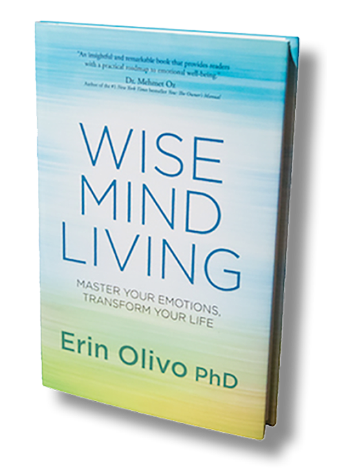 Wise Mind Living Book - by Dr Erin Olivo